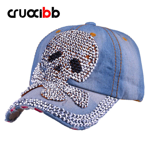 CRUOXIBB Rivet Hat Unisex Ship Baseball Cap Women Teens Bone Punk Hats Casquette Snapback Female Caps Fashion High Quality