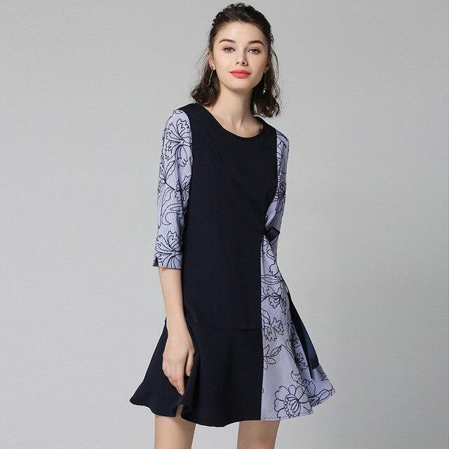 2018 Women Dress Ladies Plus Size Girls Spring Summer Korean Elegant  Vintage Long Sleeve Dresses Bandage Streetwear high quality 3ce8c4ecc