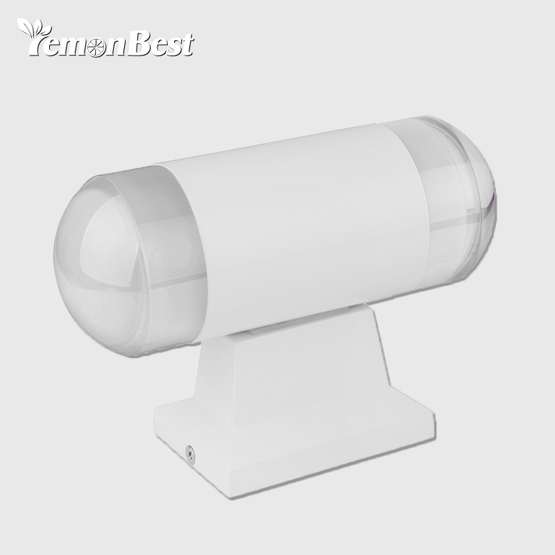 LED Bidirectional Light Wall Lamp 10W 5730 SMD Voltage AC 85-265V Lumens 80-90LM Simple Indoor And Outdoor Lighting Decoration