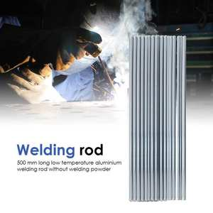 Electrodes Welding-Sticks-Rods Low-Temperature Aluminum Silver 10pcs 500mm for Surfacing
