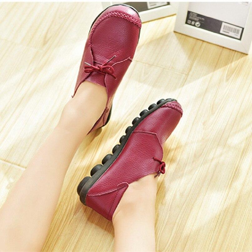 Lady Cool Plates Cresfimix A Nouvelle b c Bendal Mode Chaussures d En A2143 Confortable e Cuir Souple De Lacent Arrivée Véritable Femmes nZZF0wqp8