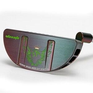 Image 4 - 골프 클럽 퍼터 black festoon men cnc 스틸 샤프트 헤드 커버 포함 무료 배송