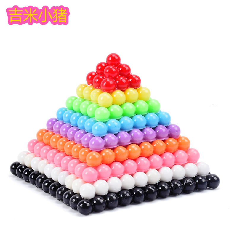 1100pcs beads toys for Children pegboard diy set girls gift arts and craft ironing bead for creativity needlework material in Beads Toys from Toys Hobbies