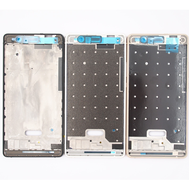 BaanSam New Front Frame Housing Case LCD Screen Frame For Huawei Ascend P9 Lite With Power Volume Buttons