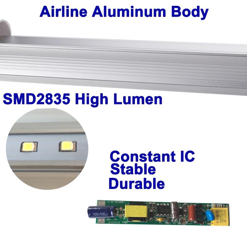 Integrated T5 Led Light 4ft 1200mm led tube Lamp Fluorescent Light 18W 20W 22W 110V 220V Led High Bright, Lighting Manumfacture