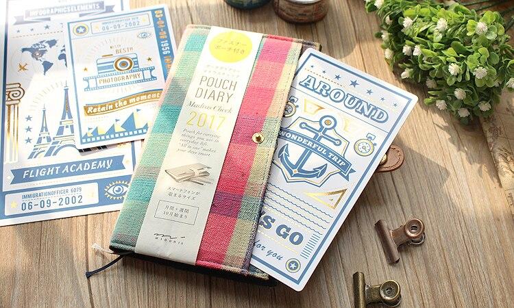 Jamie Notes Original Folie Skrivmatta För Midor Traveller Notebook - Block och anteckningsböcker - Foto 5