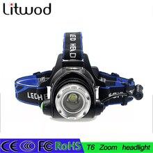 LLEVÓ La Linterna T6/L2 led faro zoom 18650 faros lámpara principal 5000lm XML-L2 linterna de zoomable LED luz de la BICI
