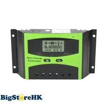40A Solar Regulator 12V 24V LCD Display Light Timer Control Working Storage Function Adjustable Parameter Controller Y-Solar