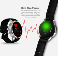 Bluetooth Smart Watch Android 5 1 3G MTK6580 1GB 16GB Heart Rate Monitor Phone Smartwatch With