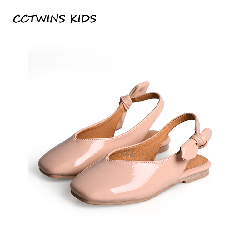 CCTWINS KIDS 2018 Summer Children Pu Leather Slip On Shoe Baby Girl Princess Sandal Toddler Fashion Butterfly Flat BP241 adidas performance natweb i slip on shoe toddler