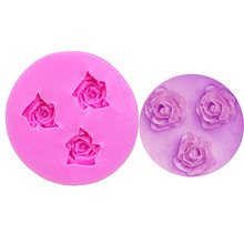 M0157 Flower Silicone Molds Fondant craft Cake Candy Pastry Baking Tool Mould cake decorating tools