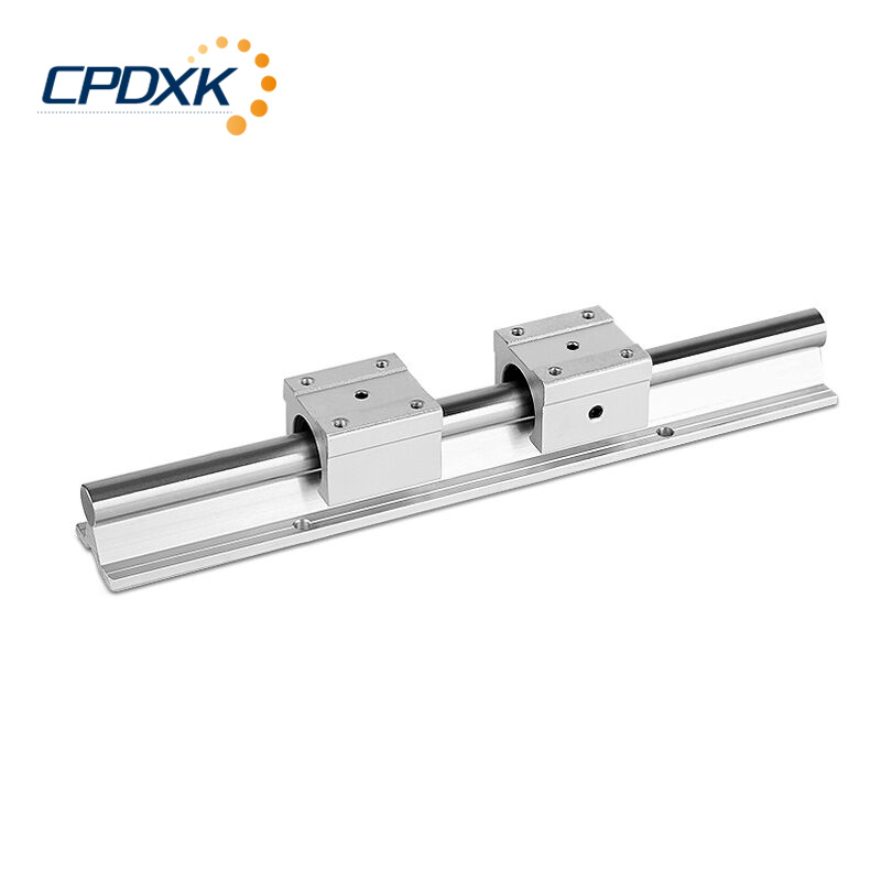 linear rail SBR16 16mm rail 600mm linear guide with 2pcs SBR16UU Set cnc router 3D print part linear rail guidelinear rail SBR16 16mm rail 600mm linear guide with 2pcs SBR16UU Set cnc router 3D print part linear rail guide
