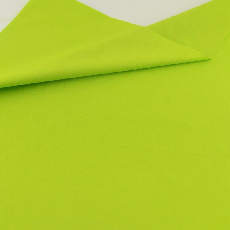 Tela de sarga de color verde fresco acolchar patchwork diy de coser artesanías t