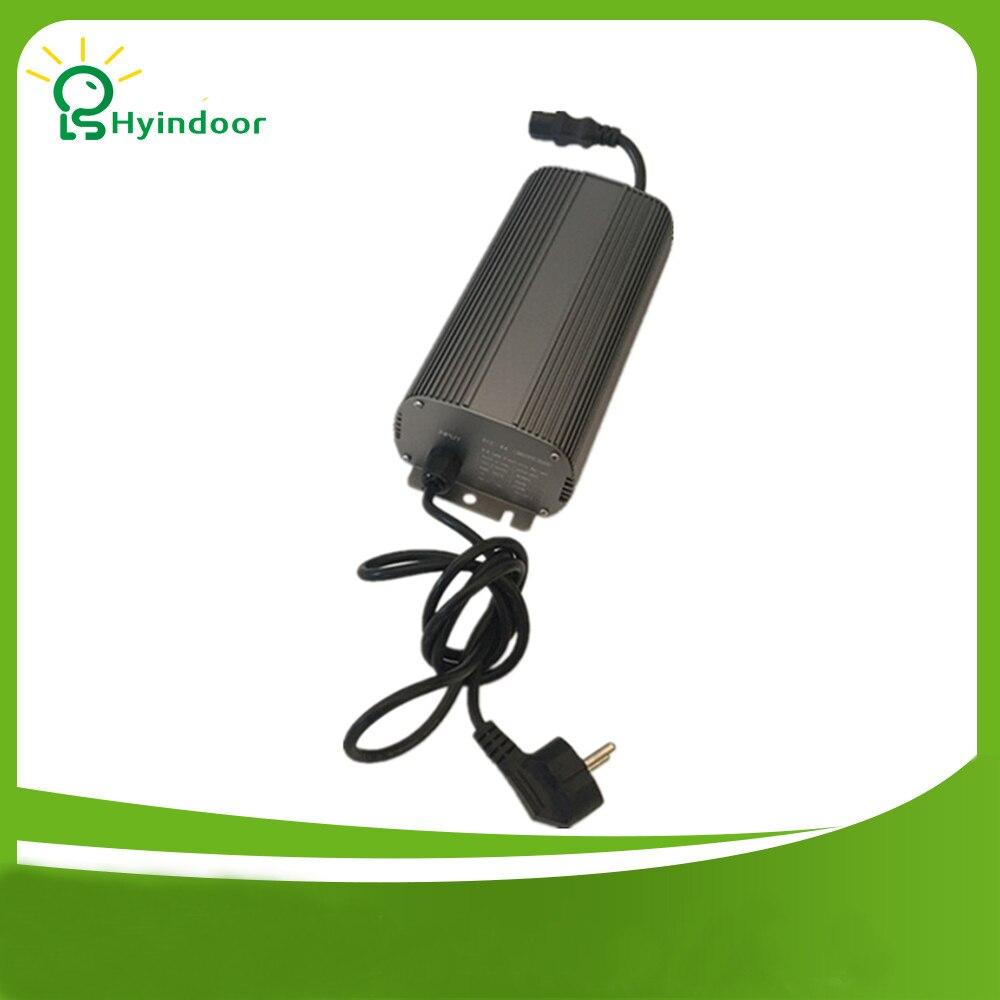 Éclairage hydroponique EU PLUG 250 W numérique Ballasts lampe métal intérieur jardin électronique Dimmable HPS MH ampoules pour cultiver des lumières