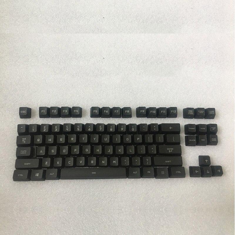 Logitech G Pro transparent keyboard key cap hombres g cap roig