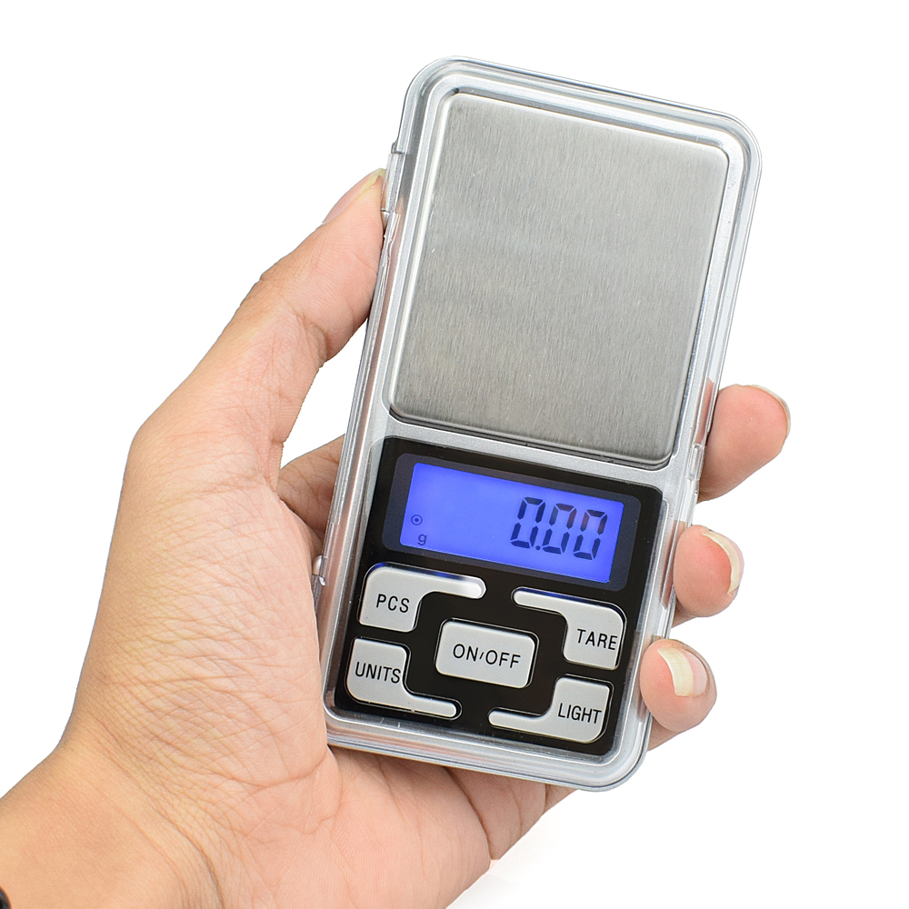 1pc  500g Electronic Digital Precision Mini Scale Jewelry Laboratory Scales Pocket Scale Balance 0.01 Accuracy  No Battery