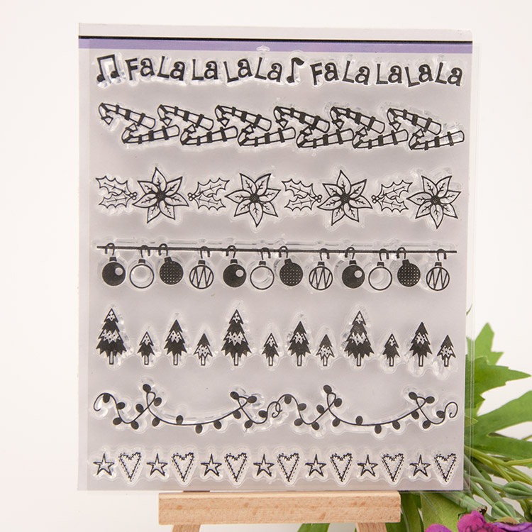 Flower lace frame Transparent Stamp Variety Of Styles Clear Stamp For DIY Scrapbooking Photo Album Diary Decoration Supplies angel and trees clear stamp variety of styles clear stamp for diy scrapbooking photo album wedding gift cl 163