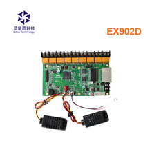 ex902d / ex902 multifunction board full color display led control card temperature & humidity& brightness support rgb Linsn card цена 2017