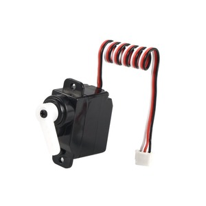 Image 3 - 7.5g Plastic Gear Analog RC Servo 4.8 6V for Wltoys V950 RC Helicopter Airplane Part Replacement Accessaries