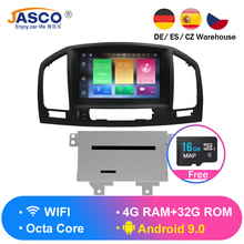 цена на Android 9.0 Car DVD Player GPS Navigation multimedia for Opel Insignia CD300 CD400 Regal Vauxhall 2010 2011 2012 Radio Stereo