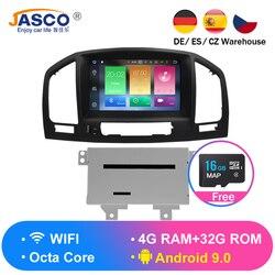 Android 9.0 Jogador Do Carro DVD GPS de Navegação multimídia para Opel Insignia CD300 CD400 Regal Vauxhall 2010 2011 2012 Rádio Estéreo