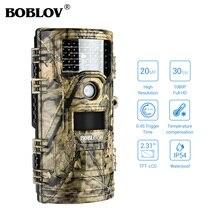 BOBLOV CT006 Photo Traps Hunting Camera 20MP 1080p Trail camera 0.4s Trigger Video Wildlife hunt photo trap fototrappola