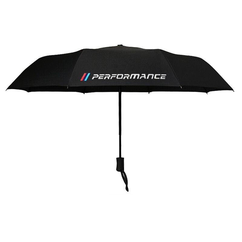 Car Automatic /// Performance Men Women Rain Umbrella For BMW M F20 G30 F30 E30 X5 E53 E91 E60 E90 E92 E70 E36 E39 E87 E46 F10