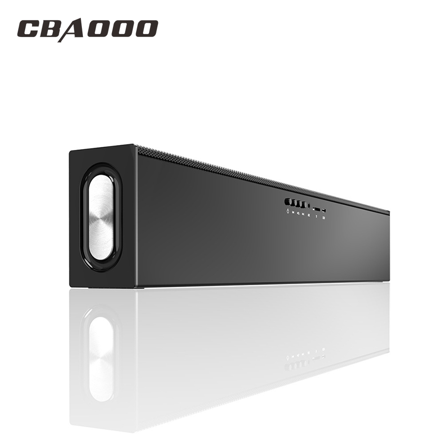 YX88 Wireless Bluetooth Speakers Home Theater 20W Computer Bass 3D Stereo Soundbar TV AUX Optic Soundbar with Subwoofer Speaker
