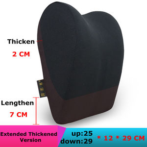 Image 4 - 1 個車のヘッドレスト首枕のための座椅子自動低反発綿メッシュクッション生地カバーソフトヘッドレストトラベルサポート