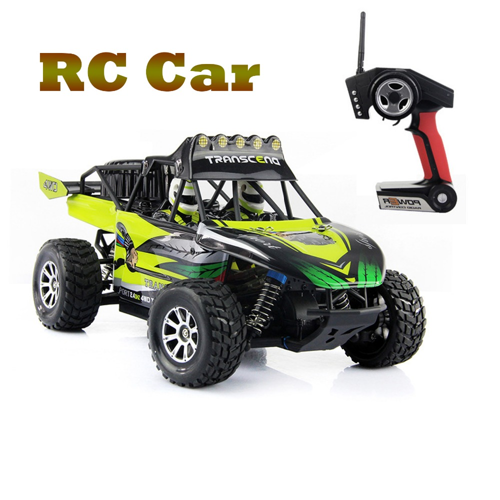 RC Car WLtoys K929 1:18 Remote Desert Off-road Vehicle High Speed Car 4WD RC Racing Car 50km/h 2.4GHz Remote Control Truck FSWB wltoys k929 1 18 2 4ghz 4 channel high speed remote control racing car model toy green