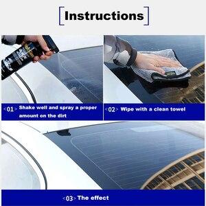 Image 4 - 473ml Car Ceramic Spray Coating Waterless Car Cleaner Car Wash Wax Car Clean Paint Care Polish Car Window Cleaning