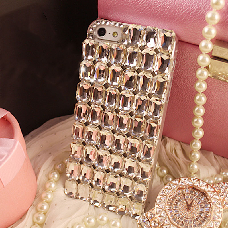 Pure crystal stones diamond phone case cover For Samsung galaxy j2 j4 j5 j6 j7 j8 a5 a6 a7 a8 2017 2018 prime plus pro image