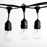 A Large Stock Of 48ft 14 4m Indoor Outdoor Commercial Led String Lights With 15pcs S14