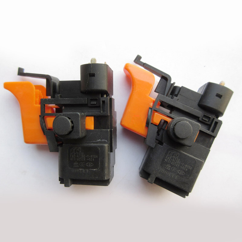 Free shipping!  Electric hammer Drill Speed Control Switch for bosch 10mm 6.5mm hammer Drill ,Power Tool Accessories free shipping electric hammer drill speed control switch for bosch gbh20 24 gst85pbe power tool accessories