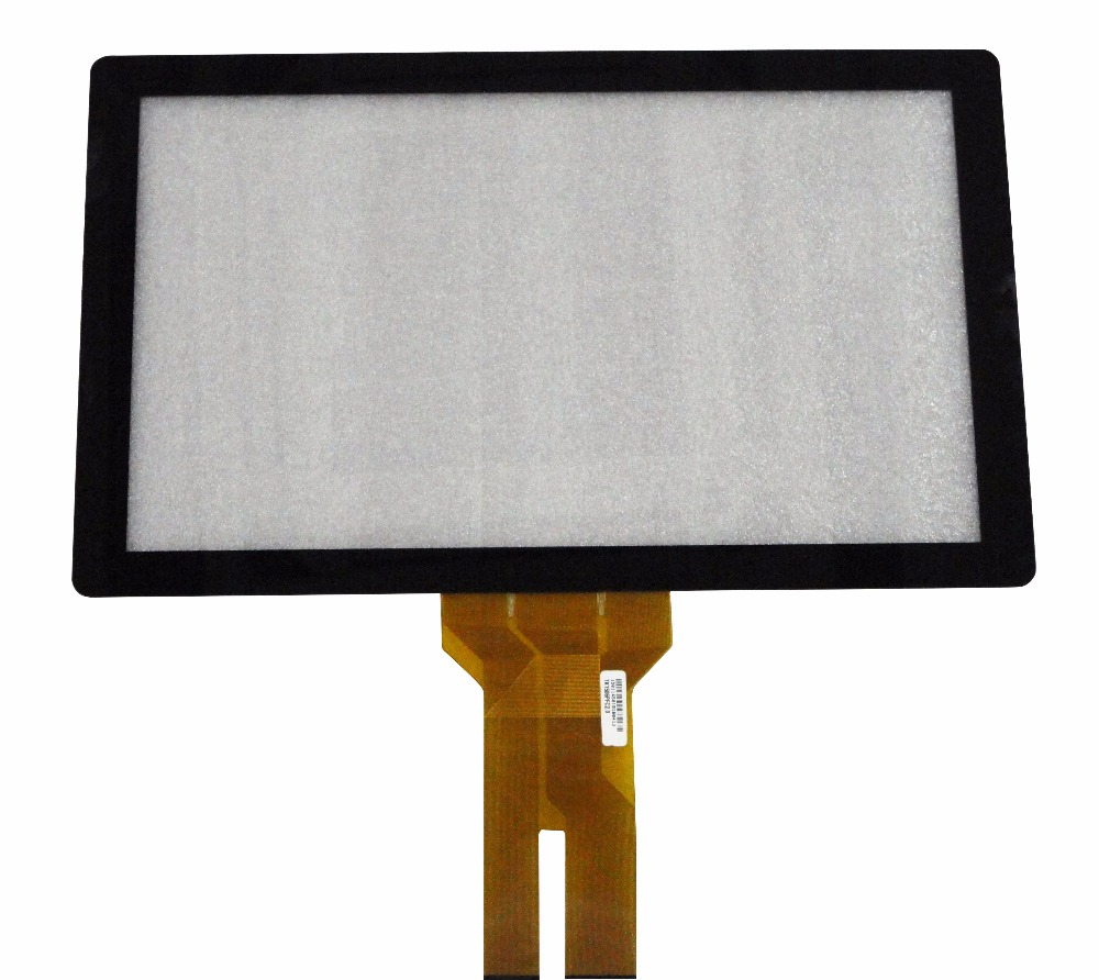 New 23 6 16 9 Projected Capacitive Touch Screen Panel 10 Points USB Controller Win 7