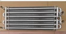 Intercambiador de calor de la caldera Longitud 340mm/310mm, doble tubo de intercambiador de calor principal, caldera de gas accesorios