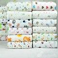 Горячая продажа 50*175 см эластичный вязаный трикотаж ткань половиной метра печатных мультфильм трикотажные хлопчатобумажные ткани DIY детские одежда ткани