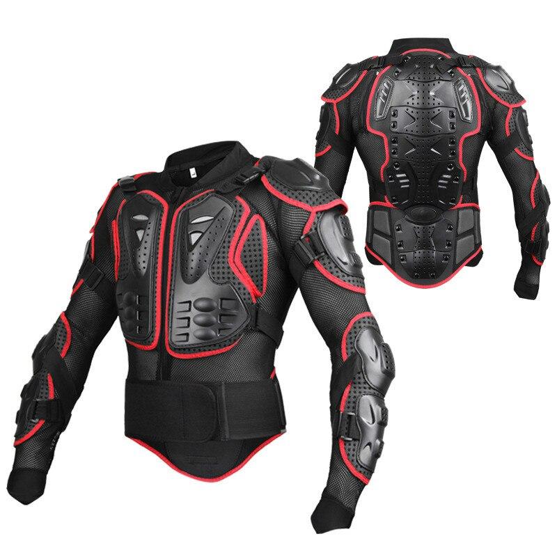 BOZXRX Moto armure complète veste de Motocross équipement de protection de la poitrine de la colonne vertébrale Motocross Moto protecteur Moto veste de Moto