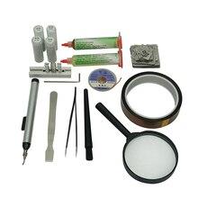 цена на BGA Reballing Station 47pcs Directly Heated BGA Stencil BGA reballing kit  BGA Stencil Universal