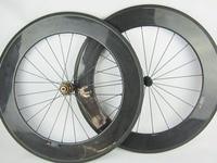 Ultra Light Weight Clincher Type 88mm 23mm Width 700C Bitex 8 Bearing Hub 700C Carbon Wheel