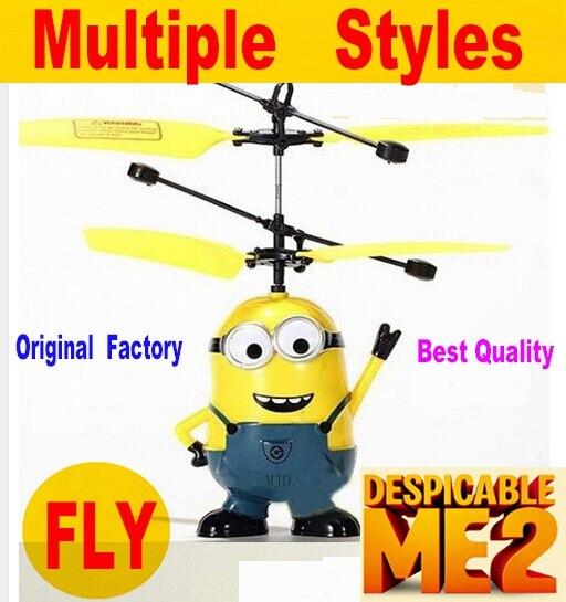 Bestseller! fliegen Spielzeug RC Despicable Me Minion Hubschrauber Quadcopter Drone VS jjrc h31 h47 h36 syma x5c x5sw x5uw xs809hw 8807 watt