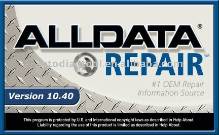 car repair software AllData 10.40 and 2011 Mitchell On Demand 5.8 On 500GB Portable Hard Drive