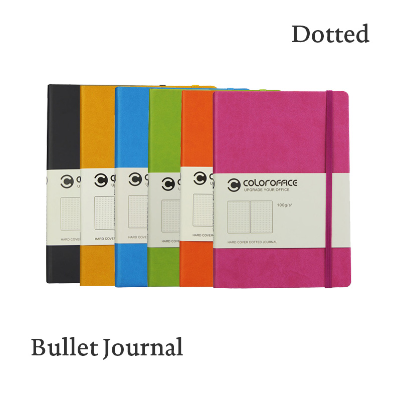 For Sale A5 Dot Grid Hard Cover Pu Dotted Bullet Journal