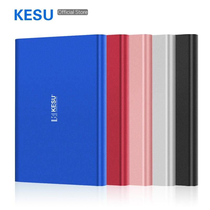 Disco rígido externo portátil de kesu 2.5 usb3.0 500 gb 750 gb 320 gb 250 gb 160 gb 120 gb armazenamento externo hd externo/pc