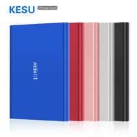 KESU Tragbare Externe Festplatte 2,5 USB3.0 500GB 750GB 320GB 250GB 160GB 120GB Lagerung externo Festplatte HD Externo forMac/PC