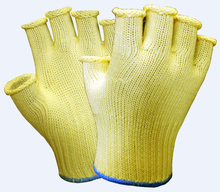 Free Shipping Kevlar Work Glove !! 100% Dupont 7 Guage Semi Finger Cut Resistance