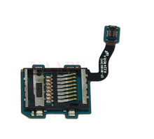 50pcs/lot Free shipping 100%  original For Samsung Galaxy S3 SIII Mini i8190 SIM Memory Card holder flex cable