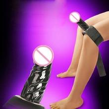 Секс-игрушки для Лесбиянки Страпон фаллоимитаторы с поясом продукт секса для женщины на силиконовой фаллоимитатор поддельные член фаллоимитатор игрушки для взрослых игры