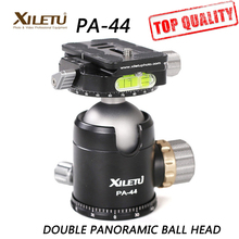PA 44 360degree Tripod Ball Head and Quick Release Plate interface 1 4 3 8 inch