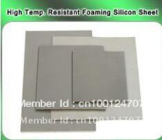 high temperature resistant foaming silicon sheet 40*60cm,0.8cm thickness size length width thickness 100mm 100mm 3mm wear resistant high temperature resistance peek plate sheet